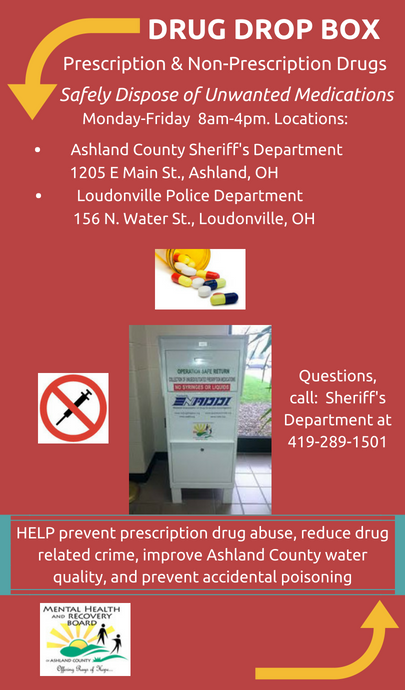 For Alcohol and Drug Abuse - Ashland County MHRB
